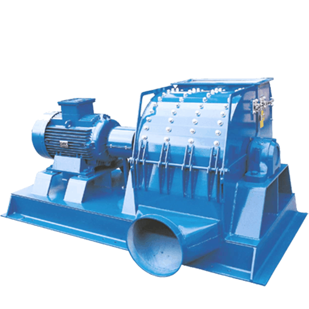 Scanhugger EU 5000 Hammermill also known as a pulverizer grinding coarse chips of solid wood, particleboard, and MDF into a predefined particle size.